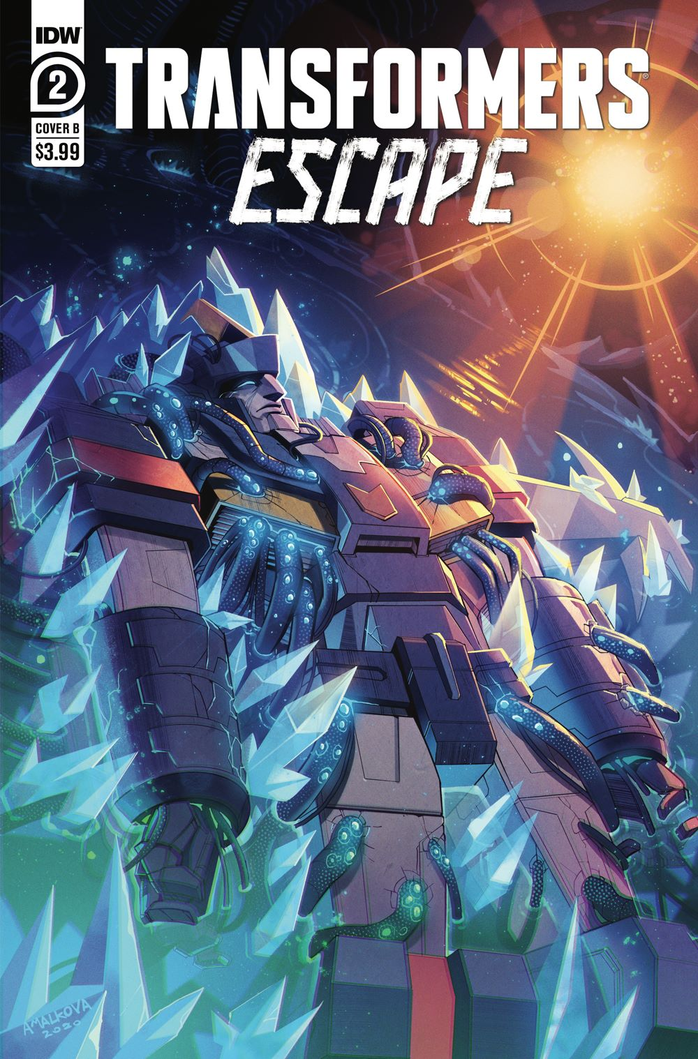 TFEscape02-Cover-B ComicList: IDW Publishing New Releases for 02/10/2021