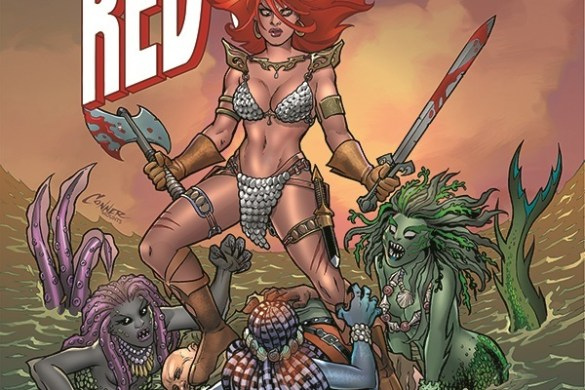 TIRS-01-01011-A-Conner Amanda Conner and Jimmy Palmiotti unleash THE INVINCIBLE RED SONJA