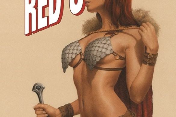 TIRS-01-01031-C-Celine Amanda Conner and Jimmy Palmiotti unleash THE INVINCIBLE RED SONJA