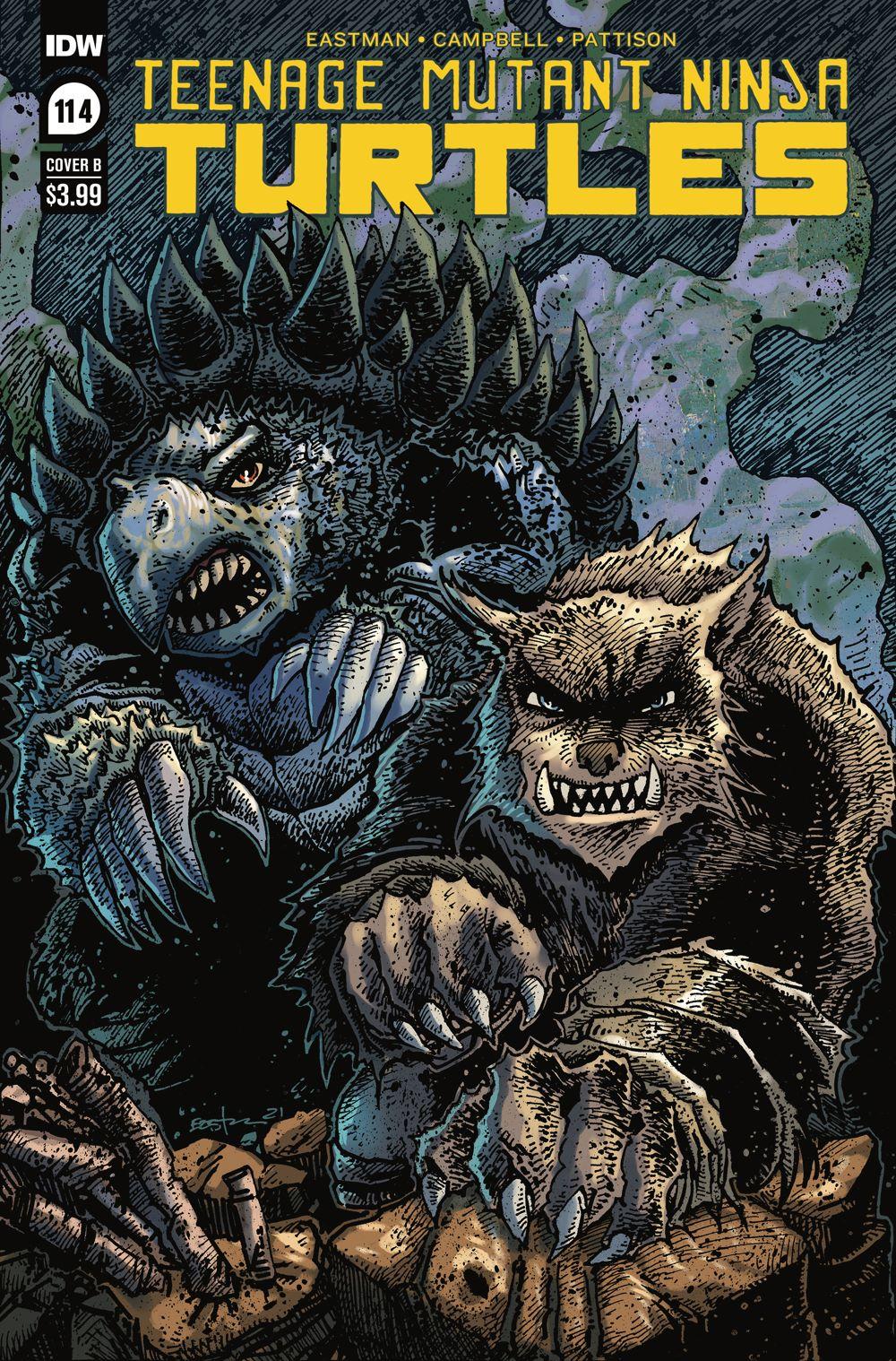 TMNT114_cvrB ComicList Previews: TEENAGE MUTANT NINJA TURTLES #114