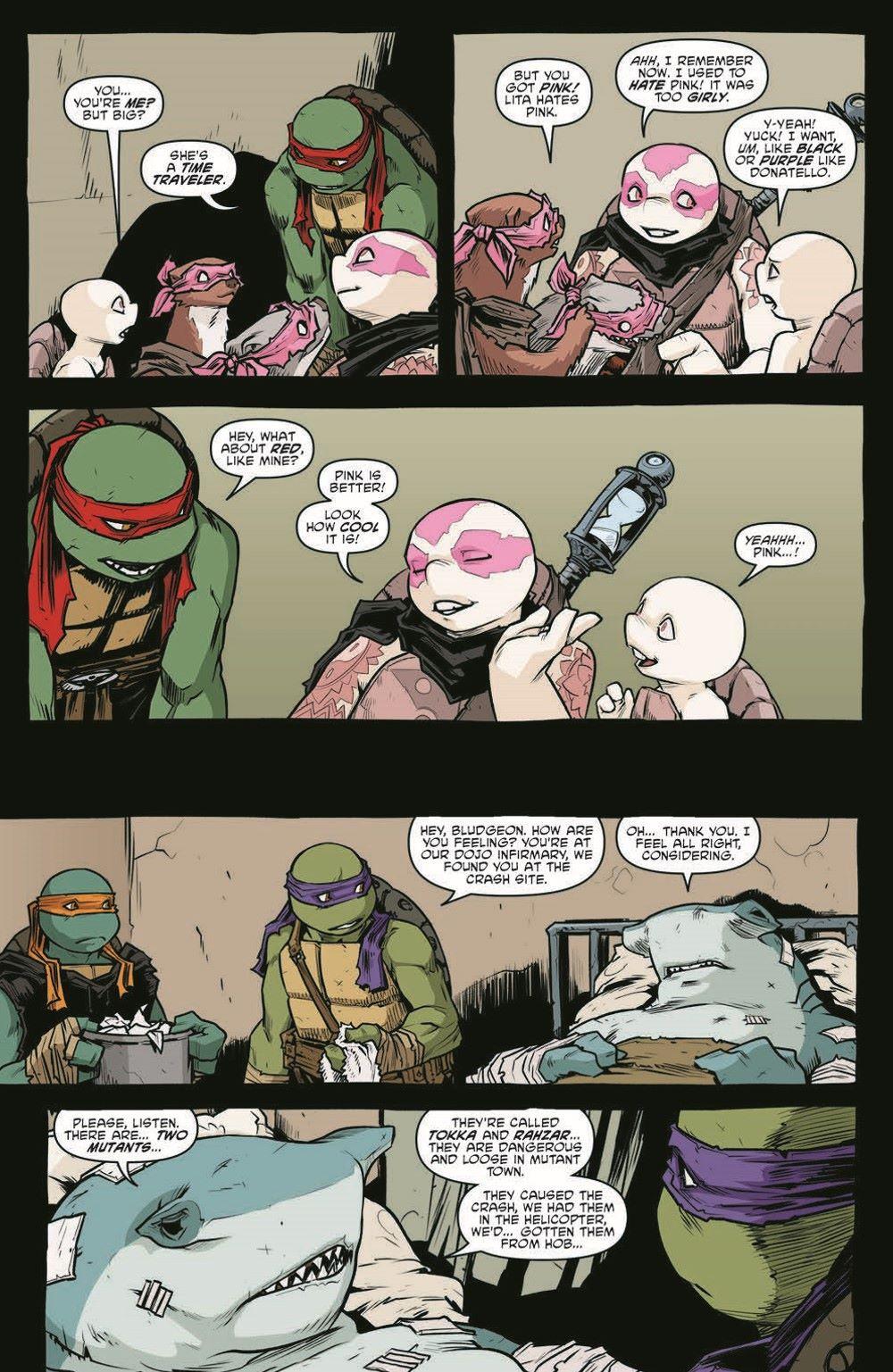 TMNT114_pr-4 ComicList Previews: TEENAGE MUTANT NINJA TURTLES #114