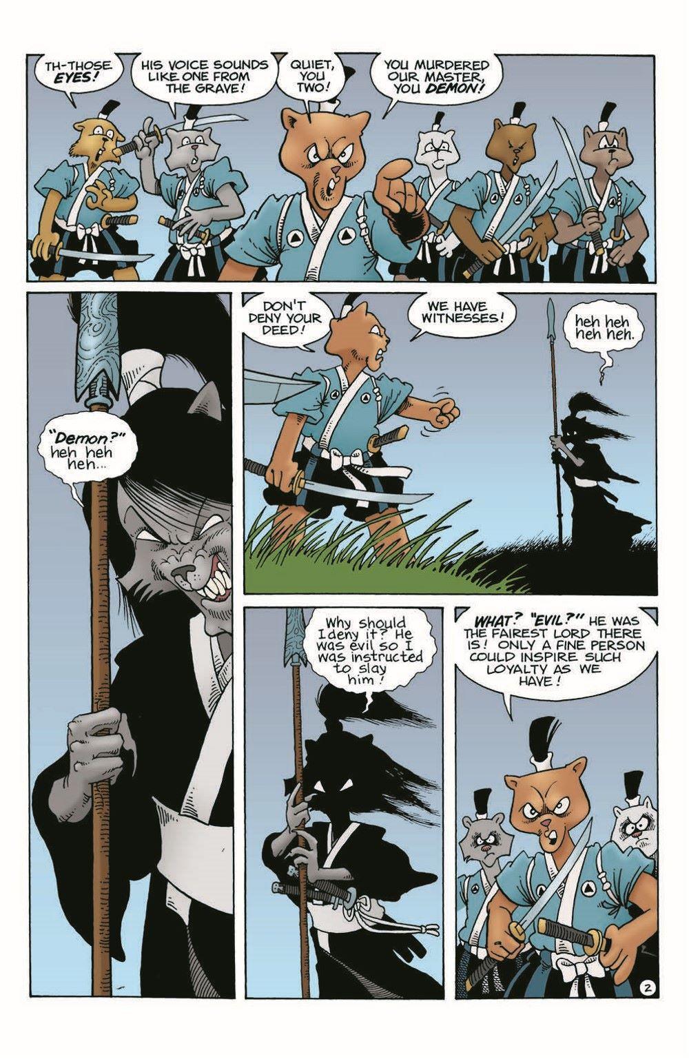 Usagi-WR04_pr-4 ComicList Previews: USAGI YOJIMBO WANDERER'S ROAD #4 (OF 6)