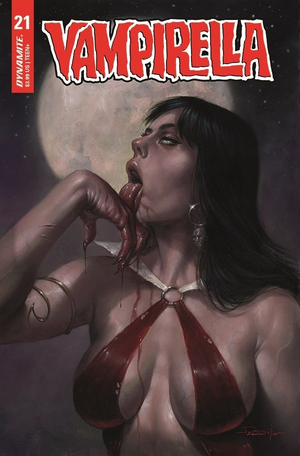 VampiV5-21-A-Parrillo Dynamite Entertainment May 2021 Solicitations