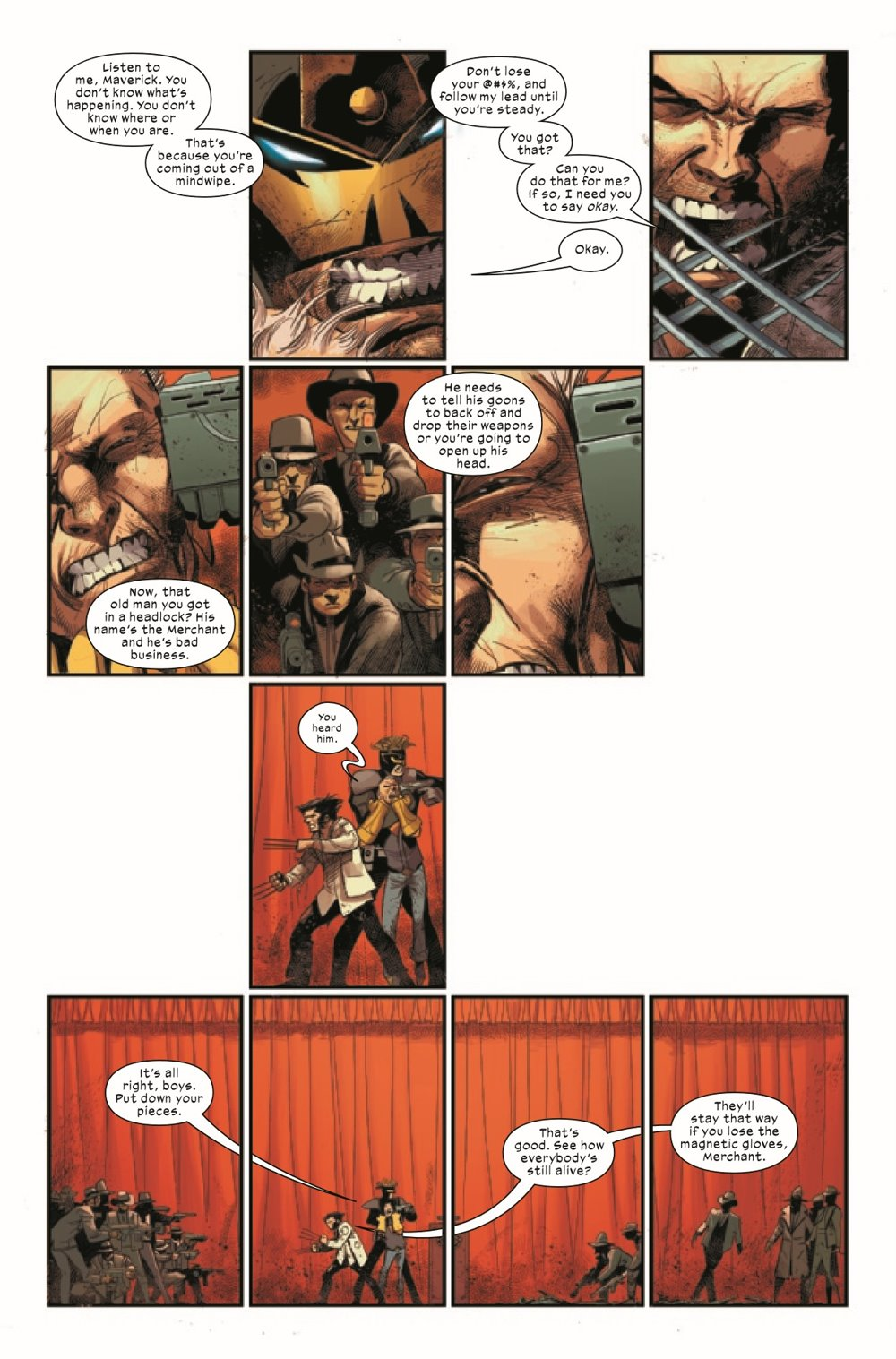 WOLV2020010_Preview-2 ComicList Previews: WOLVERINE #10