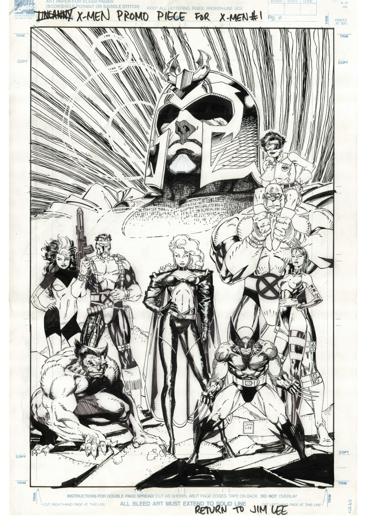 bd3dce10-cc2a-49cf-8f5d-00c8a79c7149 JIM LEE'S X-MEN ARTIST'S EDITION to contain the best selling X-Men #1