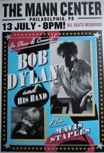 bob-dylan-and-mavis-staples-204x300 Bob Dylan Co-Headlining Concert Posters Through The Years - Part 2