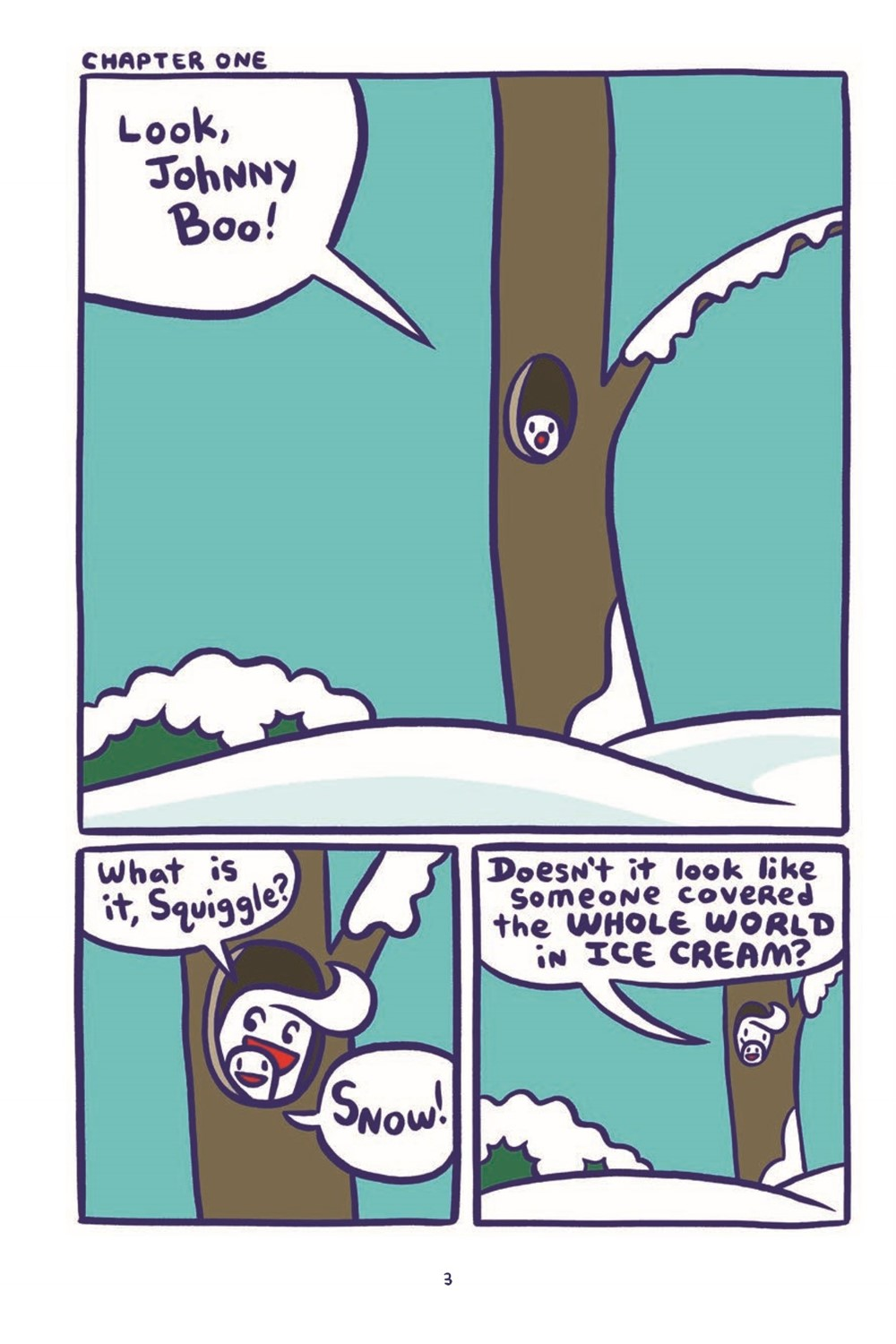 jb12-pr-3 ComicList Previews: JOHNNY BOO VOLUME 12 JOHNNY BOO AND THE SILLY BLIZZARD HC
