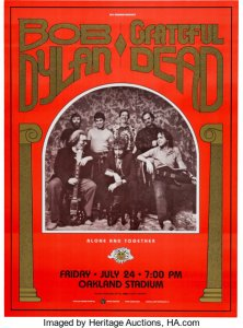 july-24-dylan-and-the-dead-222x300 Bob Dylan Co-Headlining Concert Posters Through The Years - Part 2