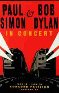 paul-simon-and-bob-dylan-192x300 Bob Dylan Co-Headlining Concert Posters Through The Years - Part 2