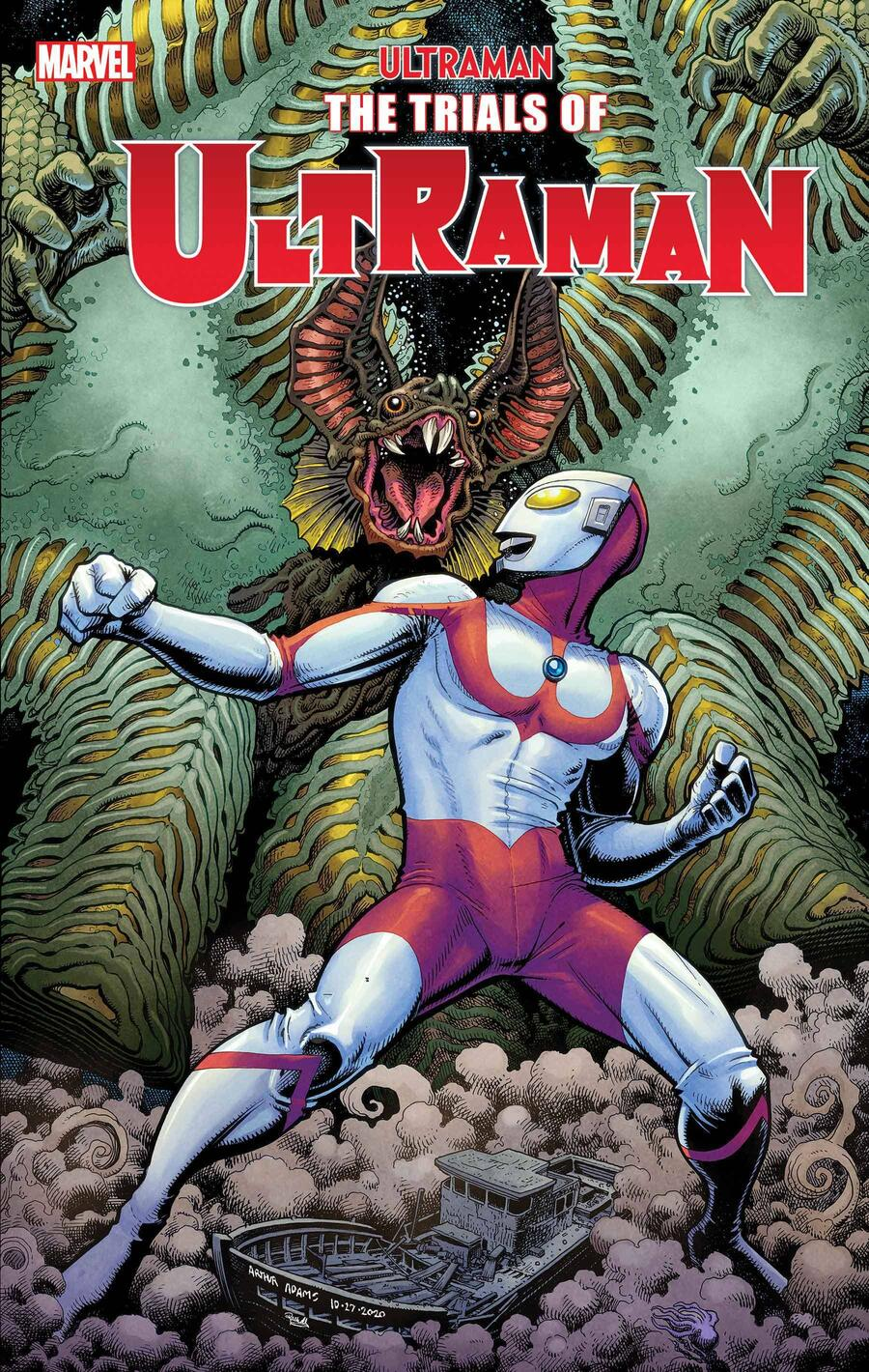 ultramantrials2021001_cov Ultraman faces his greatest ordeal in THE TRIALS OF ULTRAMAN trailer