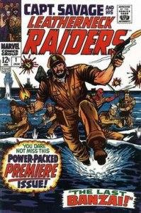 250px-CaptSavage01-199x300 SGT Fury: Let's Talk Marvel War Comics!