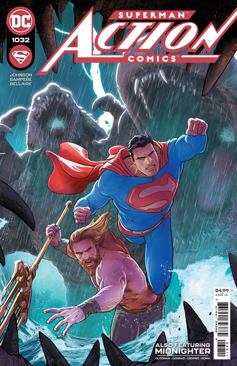 ACTIONCOMICS_Cv1032 DC Comics June 2021 Solicitations