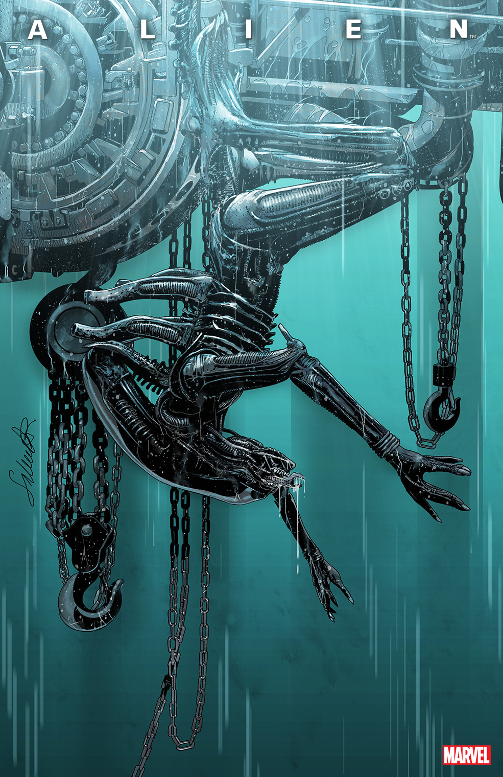 ALIENCOV_SecondPrint ALIEN #1 returns with a second printing