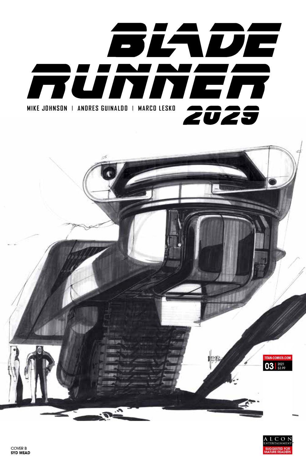 BR20293b ComicList Previews: BLADE RUNNER 2029 #3