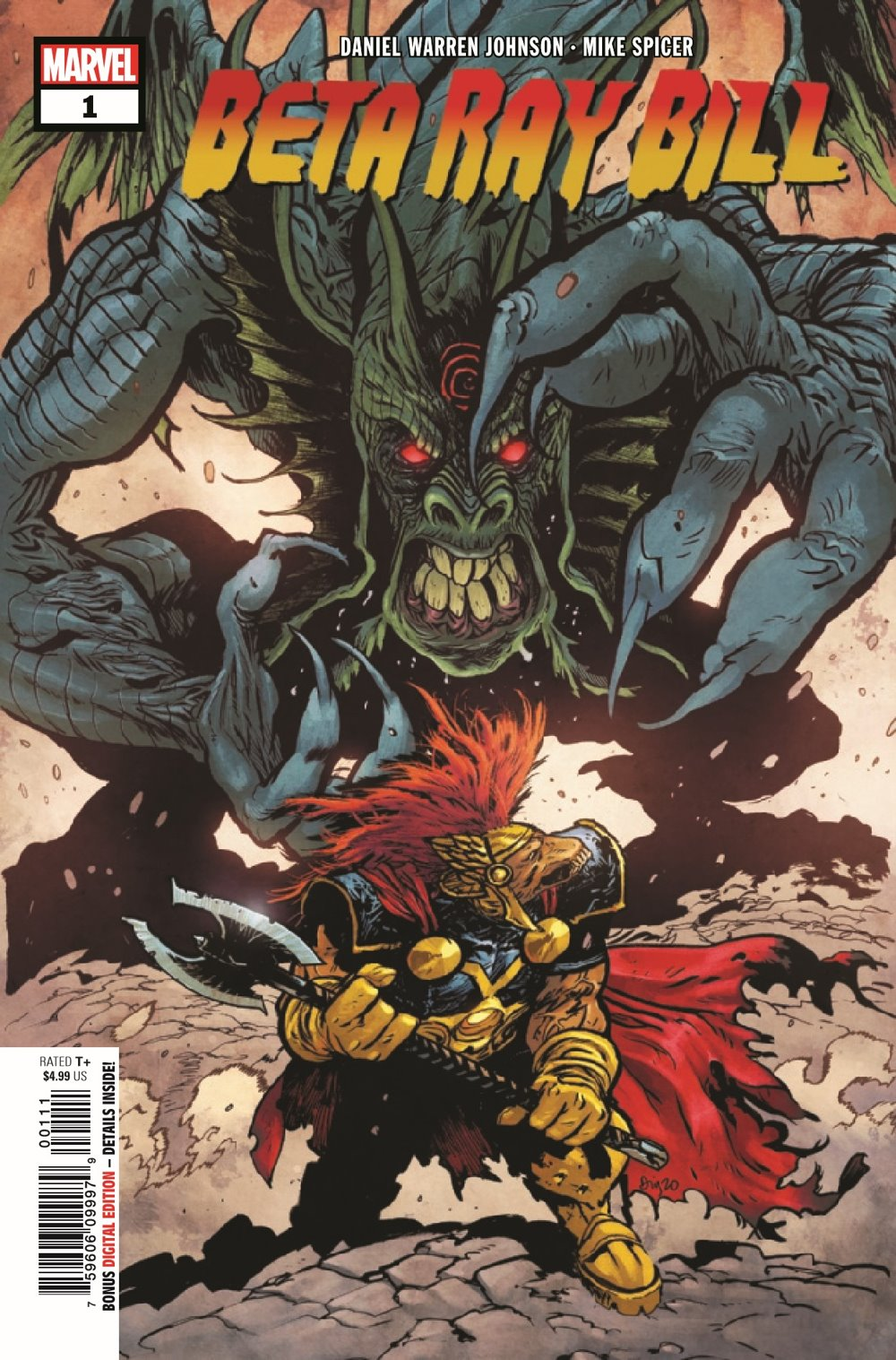 BRBILL2021001_Preview-1 ComicList Previews: BETA RAY BILL #1 (OF 5)