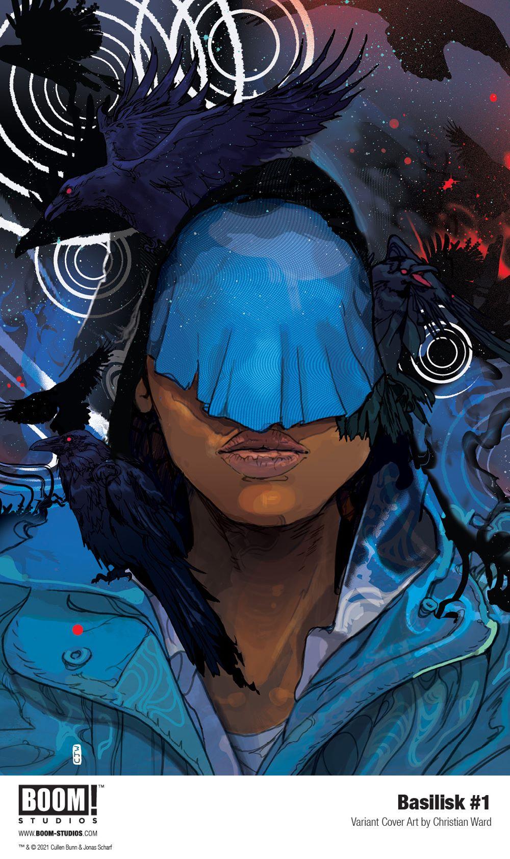 Basilisk_001_Cover_Variant_Ward_PROMO Mortal enemies and mythology mix in BASILISK