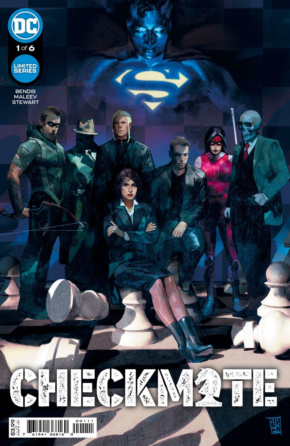 CHECKMATE_Cv1 DC Comics June 2021 Solicitations