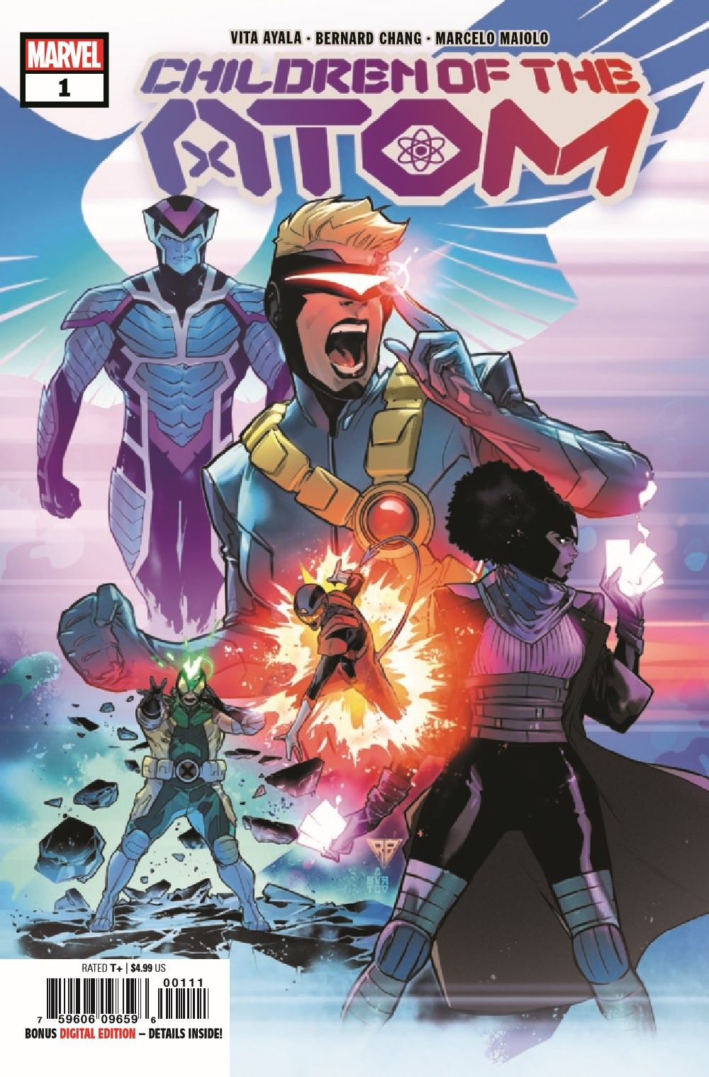 COTA2021001_Preview-1 ComicList Previews: CHILDREN OF THE ATOM #1