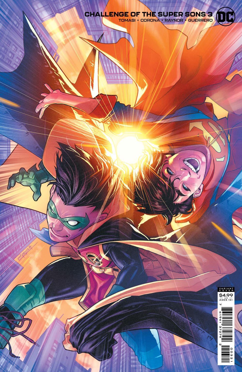 COTSuperSons_Cv3_var DC Comics June 2021 Solicitations