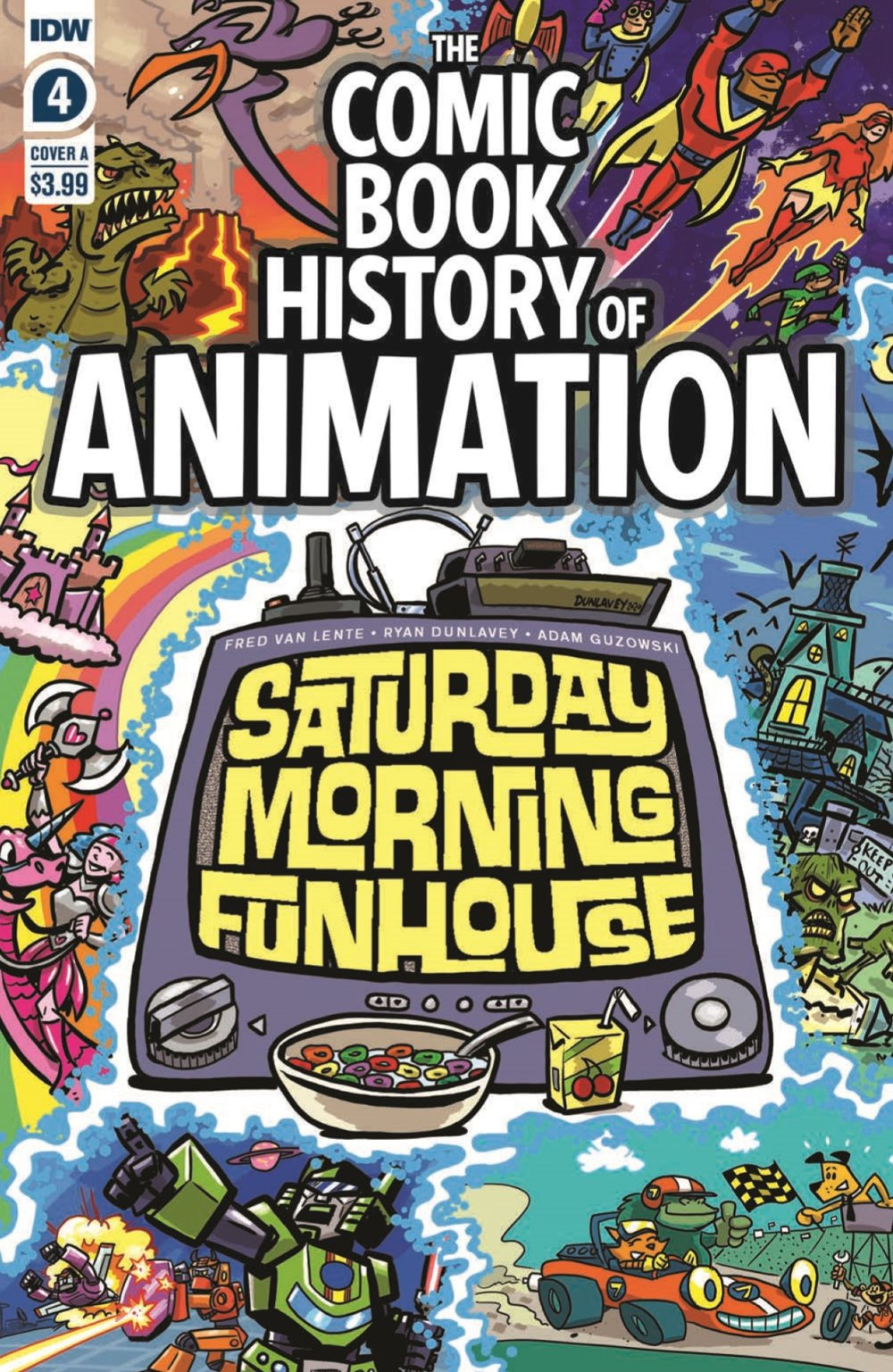 ComicBookHistory_04_pr-1 ComicList Previews: COMIC BOOK HISTORY OF ANIMATION #4 (OF 5)
