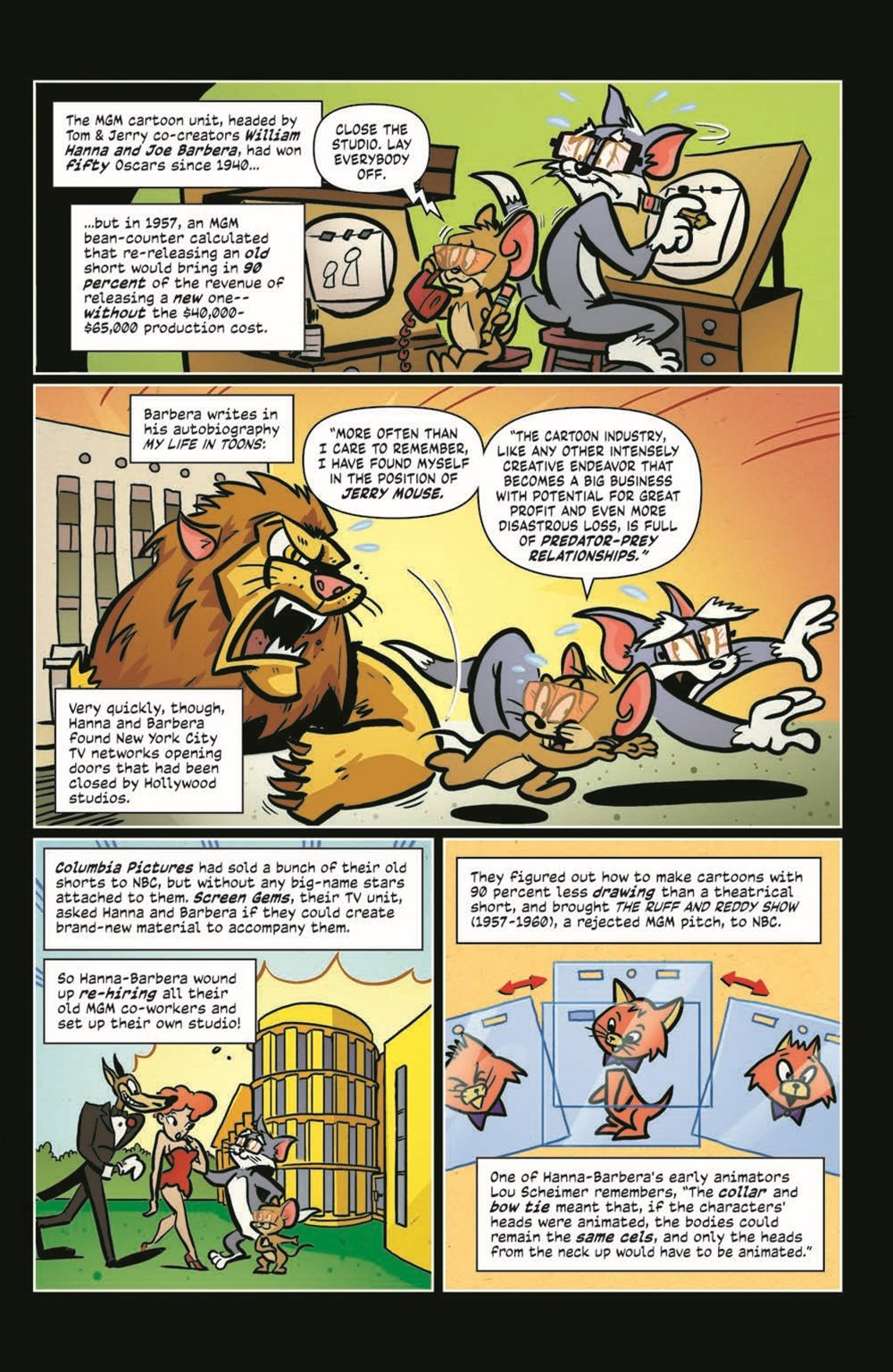 ComicBookHistory_04_pr-6 ComicList Previews: COMIC BOOK HISTORY OF ANIMATION #4 (OF 5)