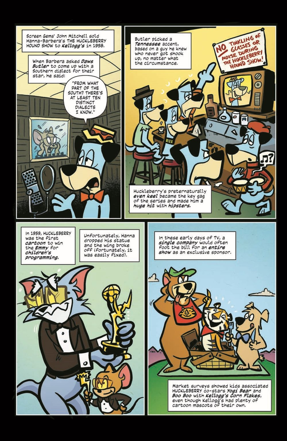 ComicBookHistory_04_pr-7 ComicList Previews: COMIC BOOK HISTORY OF ANIMATION #4 (OF 5)