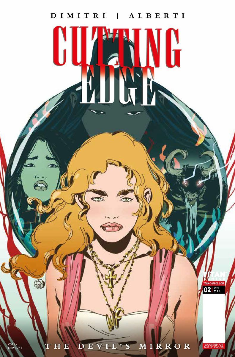 Cutting-Edge-The-Devils-Mirror-2-Cover-A-MARIA-LLOVET ComicList Previews: CUTTING EDGE THE DEVIL'S MIRROR #2 (OF 2)
