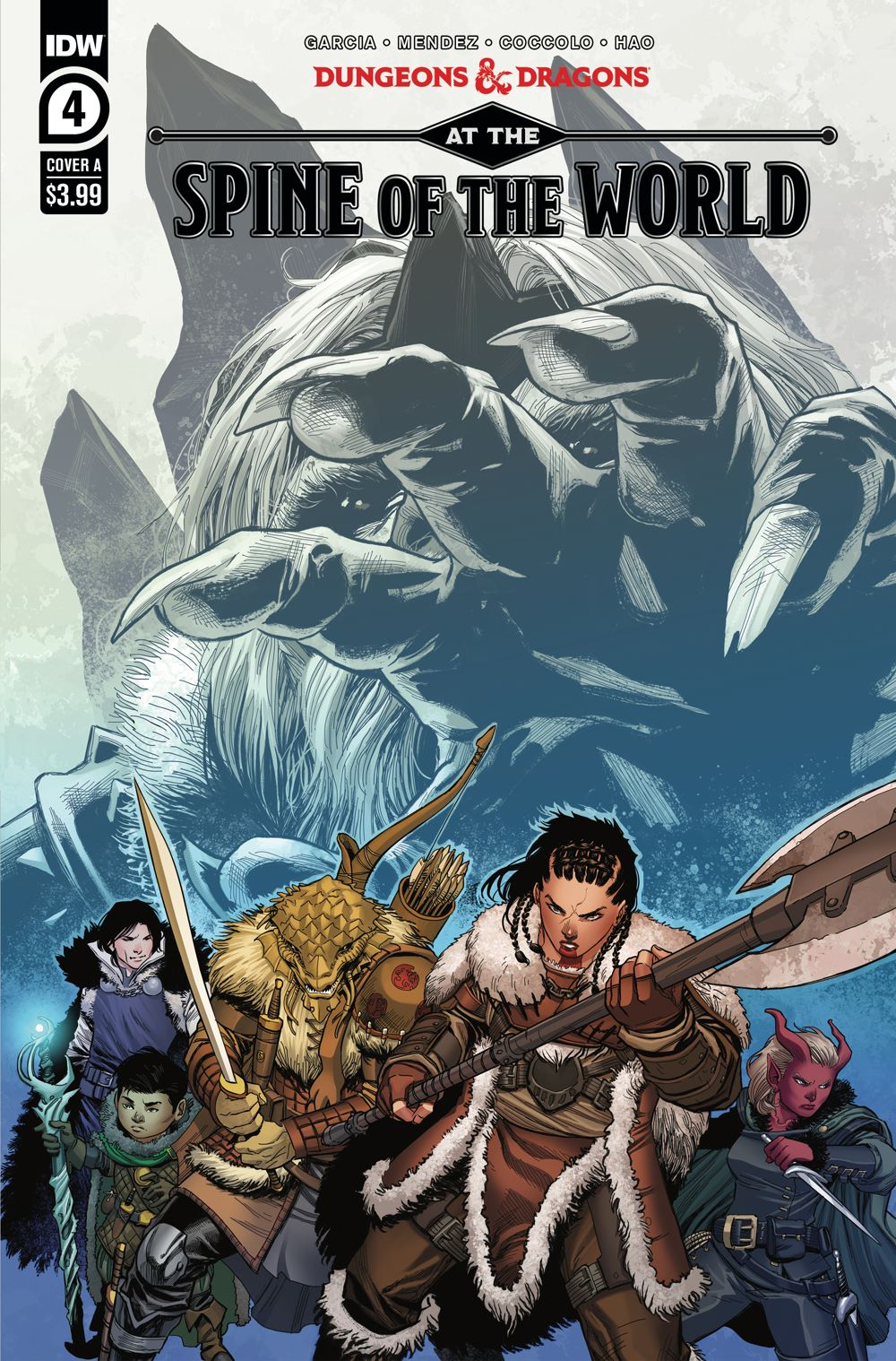 DD_ATSOTW04-coverA ComicList Previews: DUNGEONS AND DRAGONS AT THE SPINE OF THE WORLD #4 (OF 4)