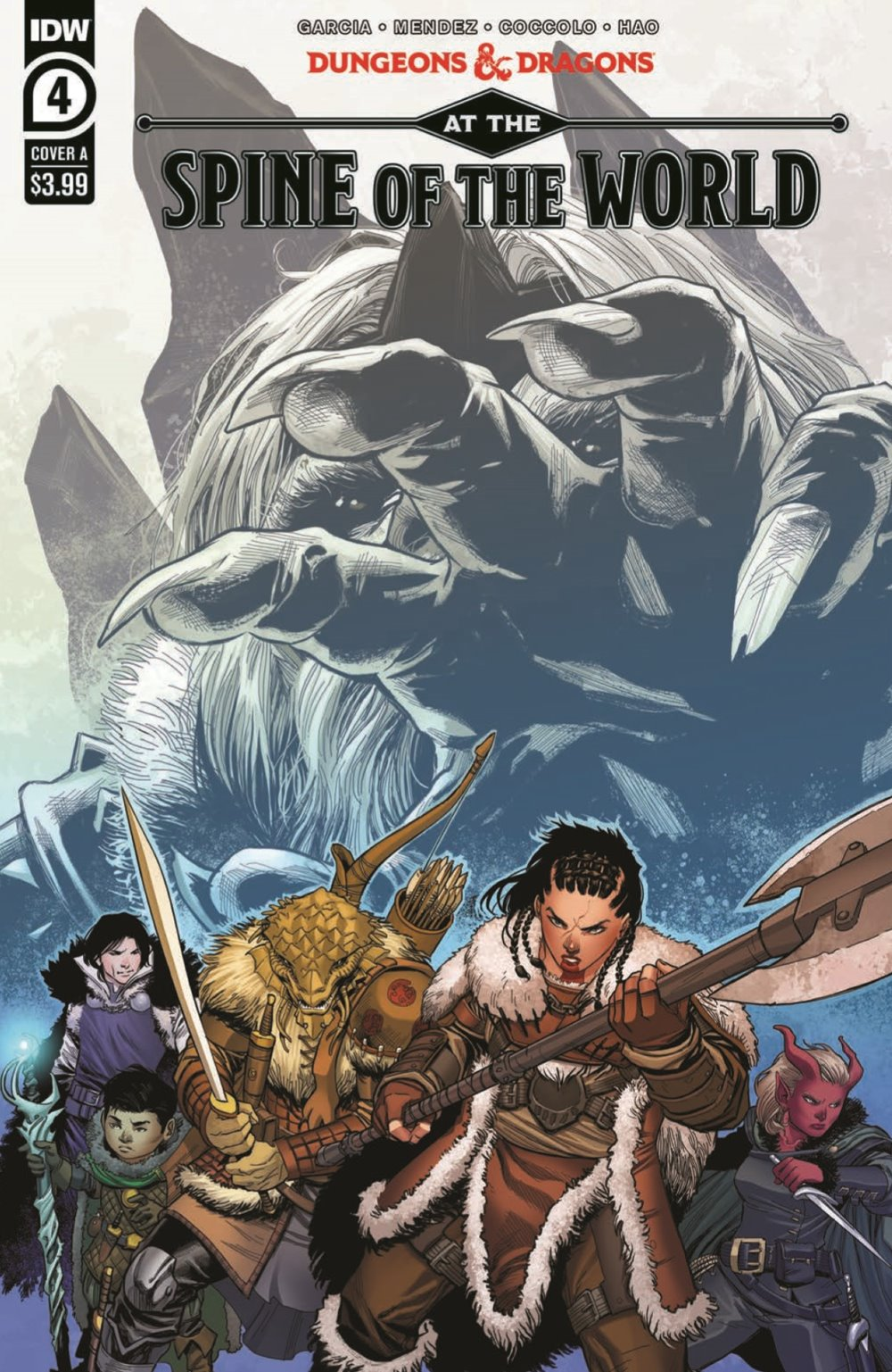DD_ATSOTW04-pr-1 ComicList Previews: DUNGEONS AND DRAGONS AT THE SPINE OF THE WORLD #4 (OF 4)