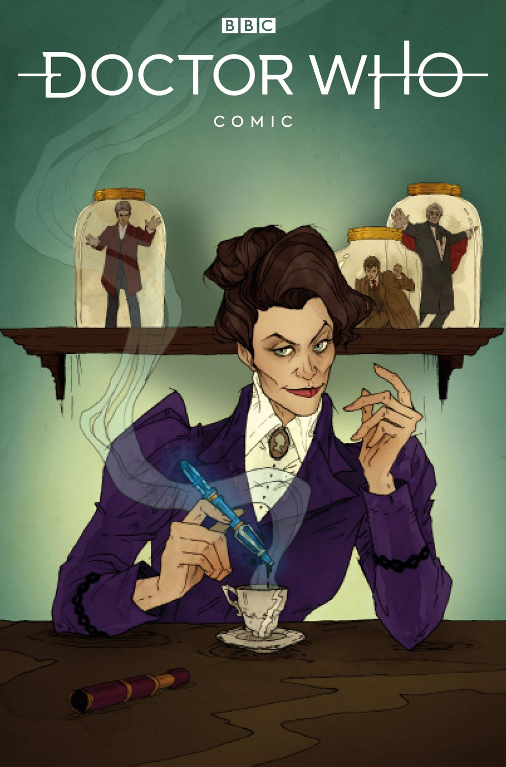 DOCTOR-WHO-MISSY-3-COVER-A-ABIGAIL-LARSON Titan Comics June 2021 Solicitations