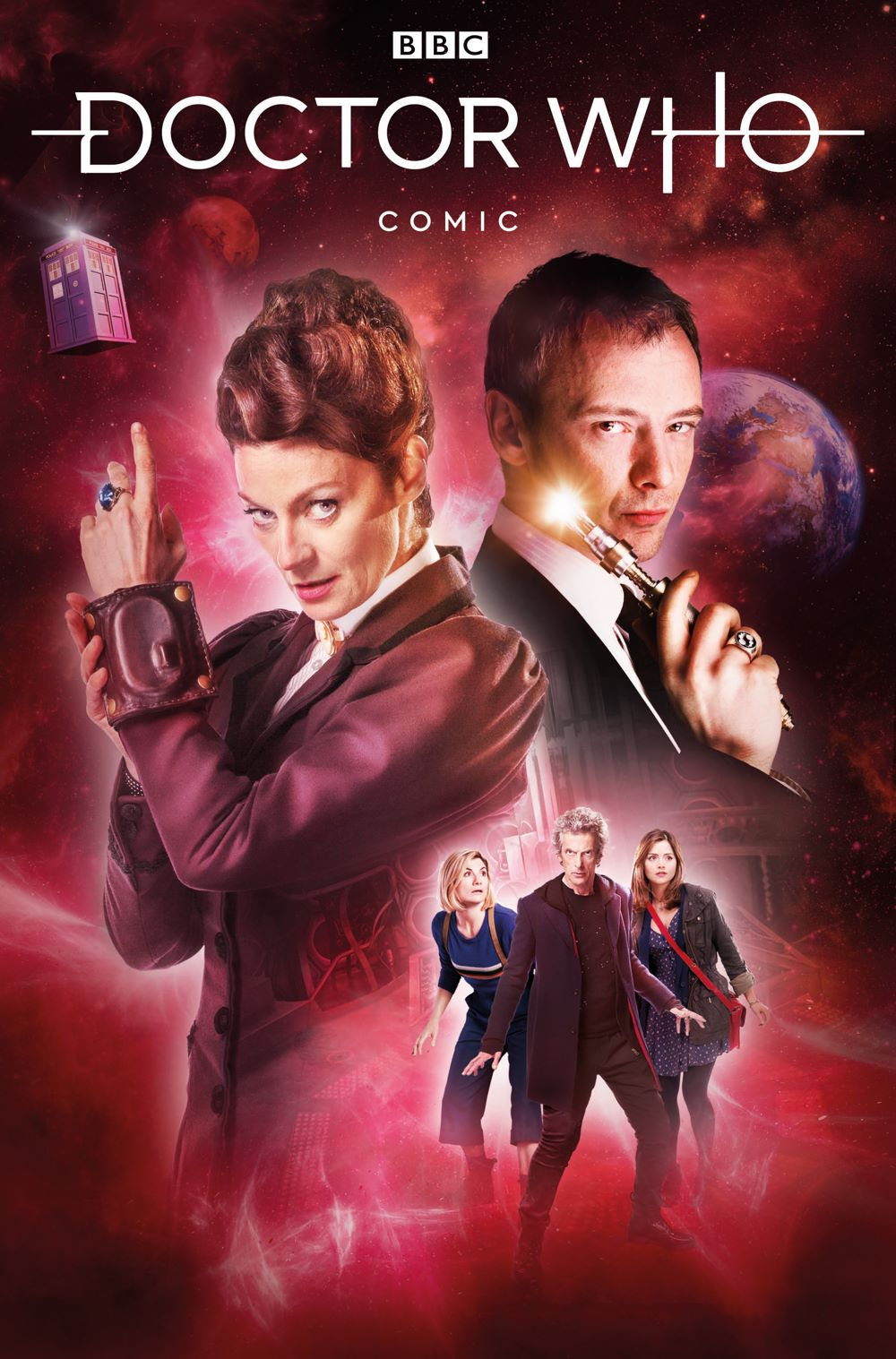 DOCTOR-WHO-MISSY-3-COVER-B-PHOTO Titan Comics June 2021 Solicitations