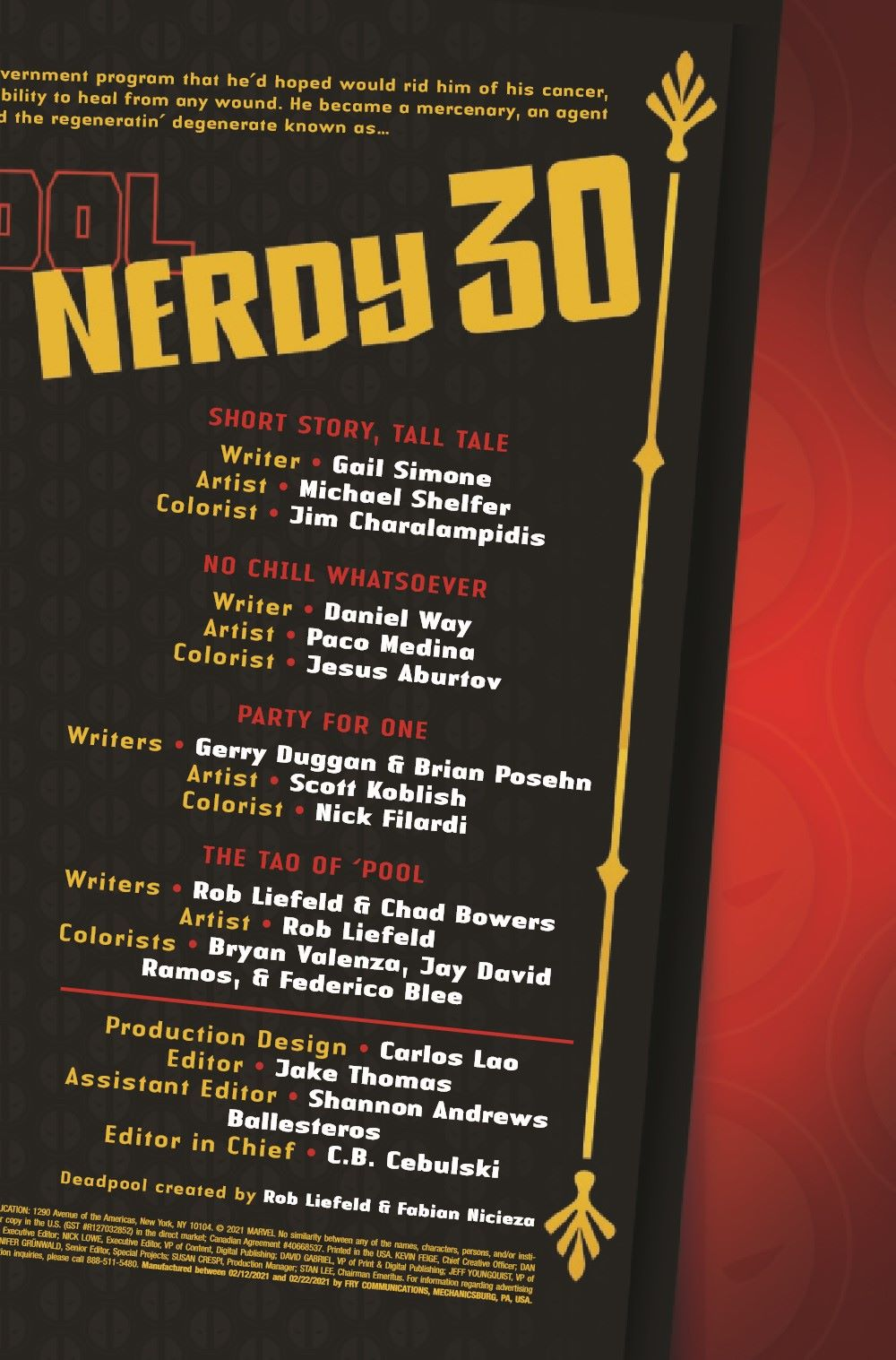 DPOOLNERDY302021001_Preview-3 ComicList Previews: DEADPOOL NERDY 30 #1