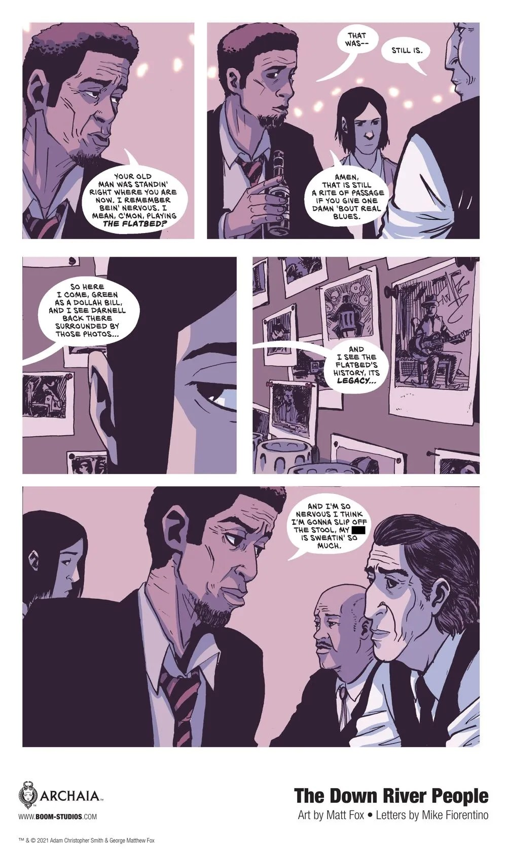 DownRiverPeople_HC_InteriorArt_008_PROMO First Look at BOOM! Studios' THE DOWN RIVER PEOPLE GN