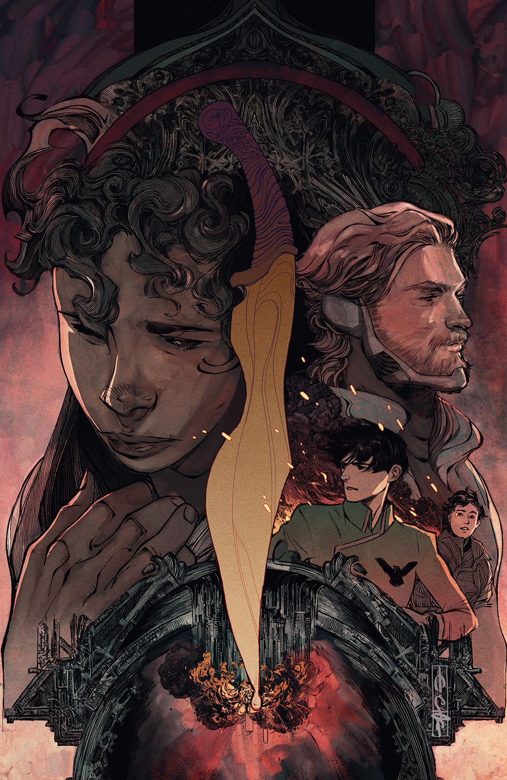 Dune_HouseAtreides_005_Cover_C_Variant ComicList Previews: DUNE HOUSE ATREIDES #5 (OF 12)