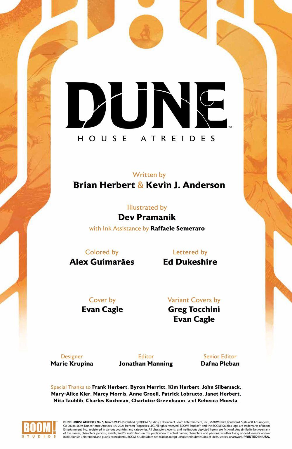 Dune_HouseAtreides_005_PRESS_2 ComicList Previews: DUNE HOUSE ATREIDES #5 (OF 12)