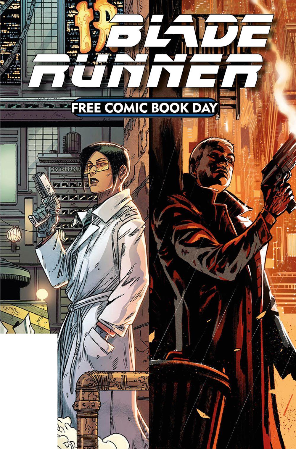 FCBD21_GOLD_Titan-Comics_Blade-Runner Free Comic Book Day 2021 Gold Sponsor Comic Books announced