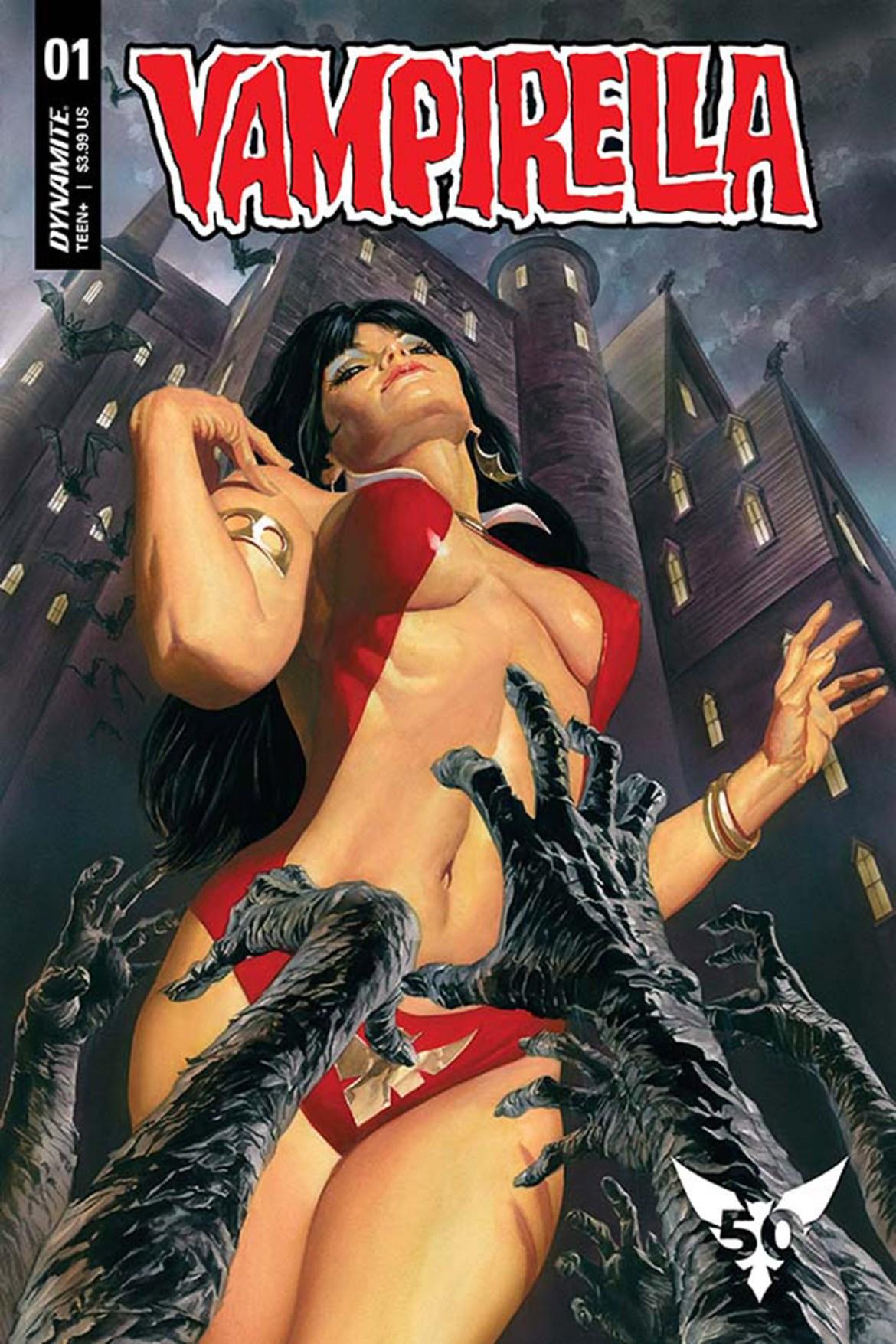FCBD21_SILVER_Dynamite_Vampirella Complete Free Comic Book Day 2021 comic book line-up announced