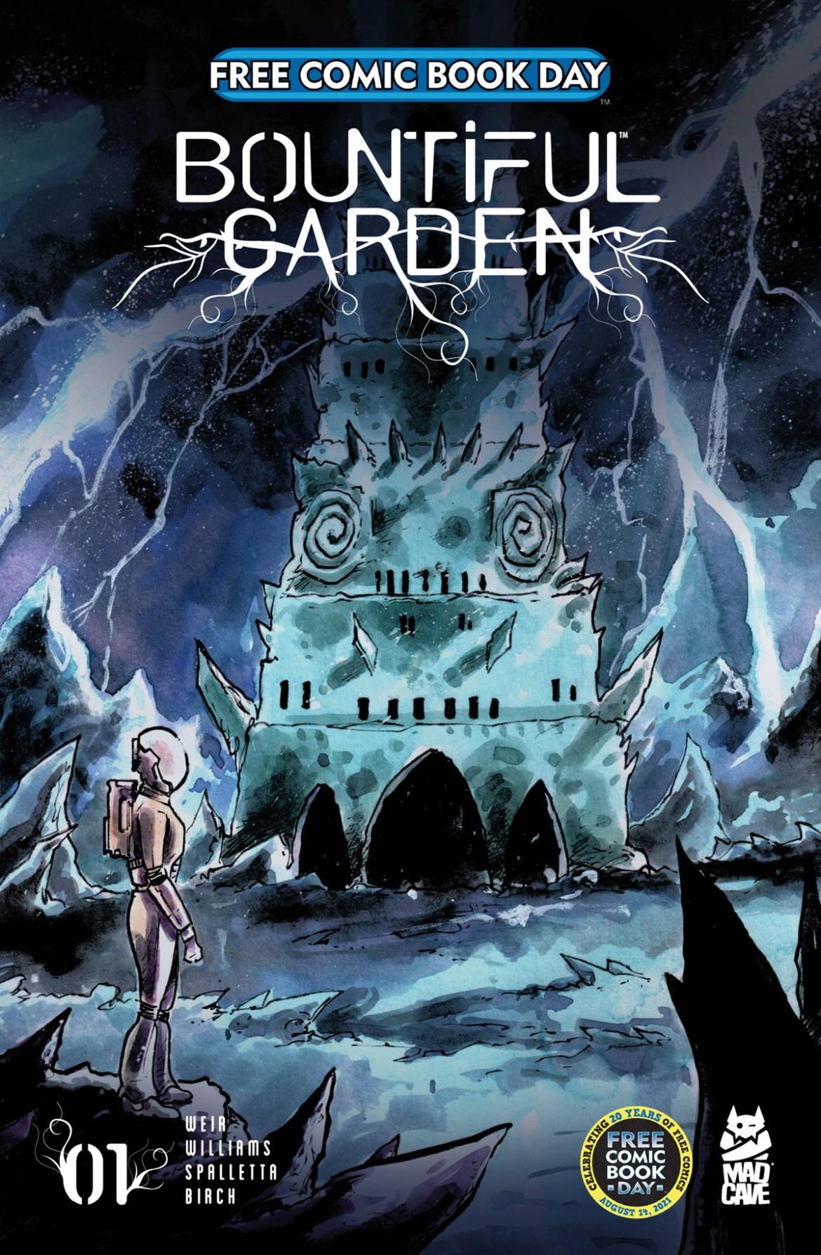 FCBD21_SILVER_Mad-Cave_Bountiful-Garden-1 Complete Free Comic Book Day 2021 comic book line-up announced