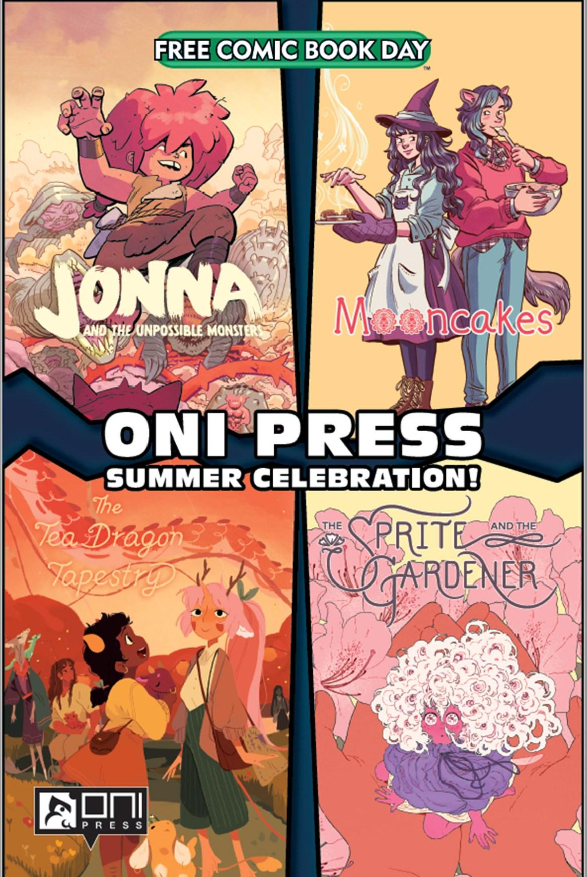 FCBD21_SILVER_Oni_Oni-Summer-Celebration Complete Free Comic Book Day 2021 comic book line-up announced