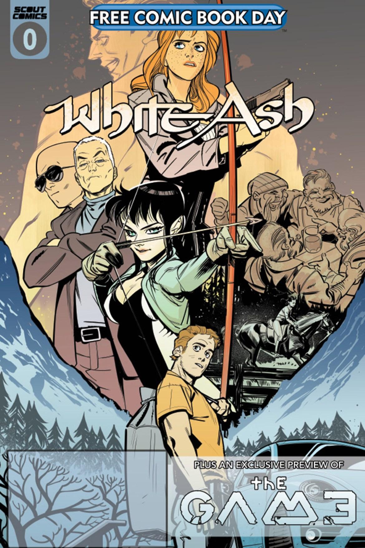FCBD21_SILVER_Scout-Comics_White-Ash Complete Free Comic Book Day 2021 comic book line-up announced