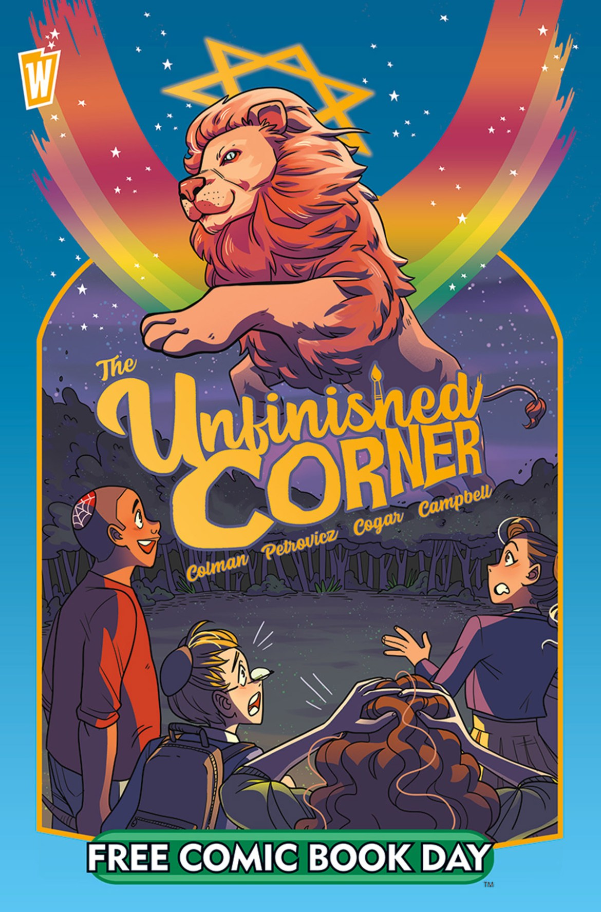 FCBD21_SILVER_Vault_Unfinished-Corner Complete Free Comic Book Day 2021 comic book line-up announced