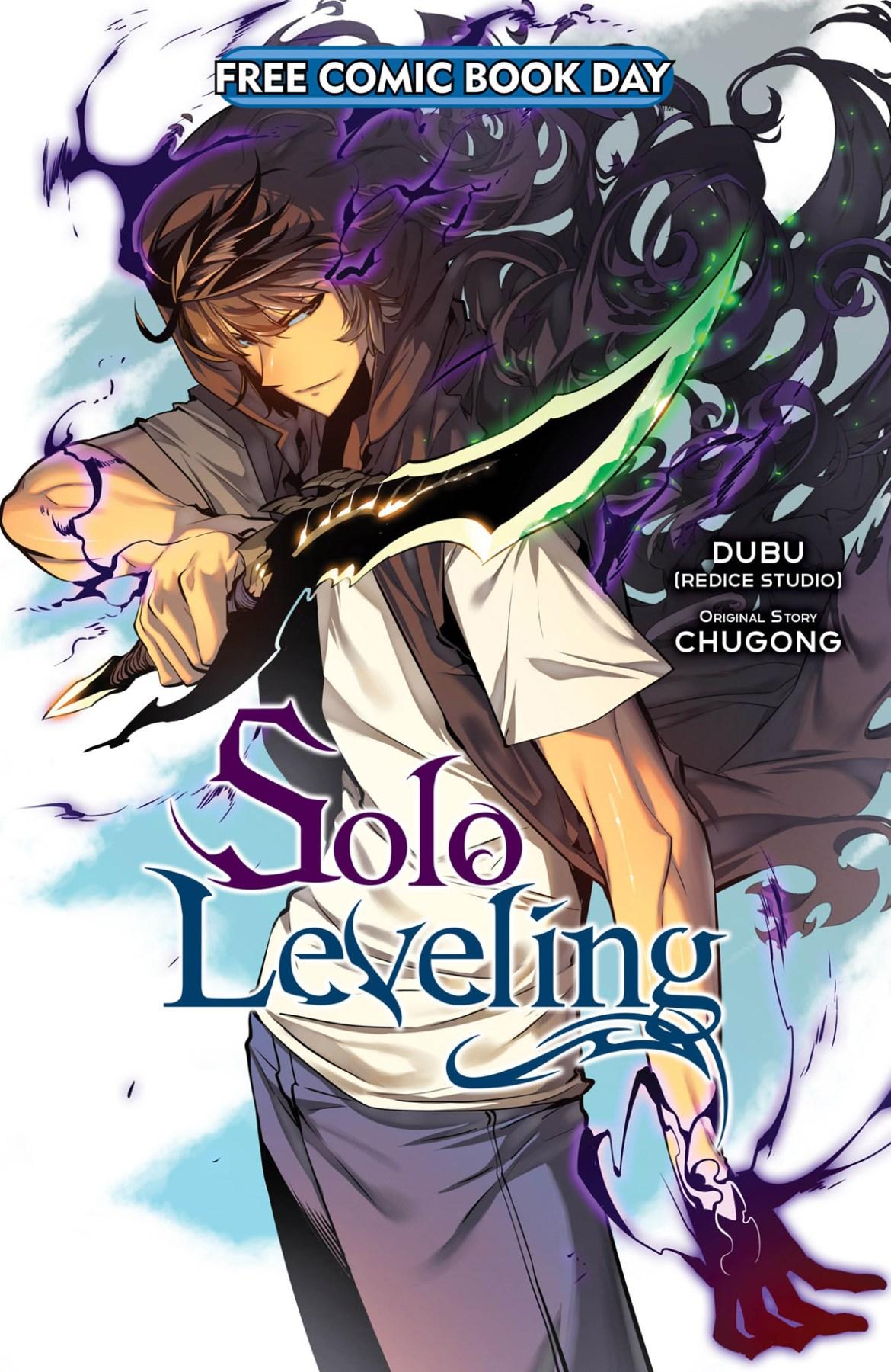 FCBD21_SILVER_Yen-Press_Solo-Leveling Complete Free Comic Book Day 2021 comic book line-up announced