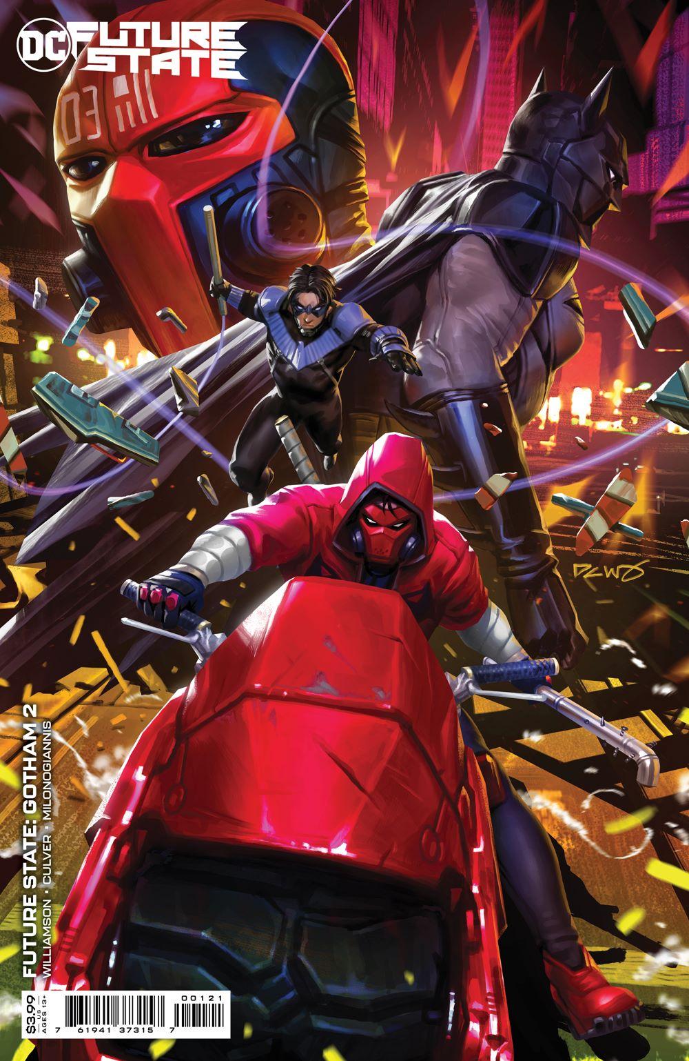 FS_GOTHAM_Cv2_var DC Comics June 2021 Solicitations