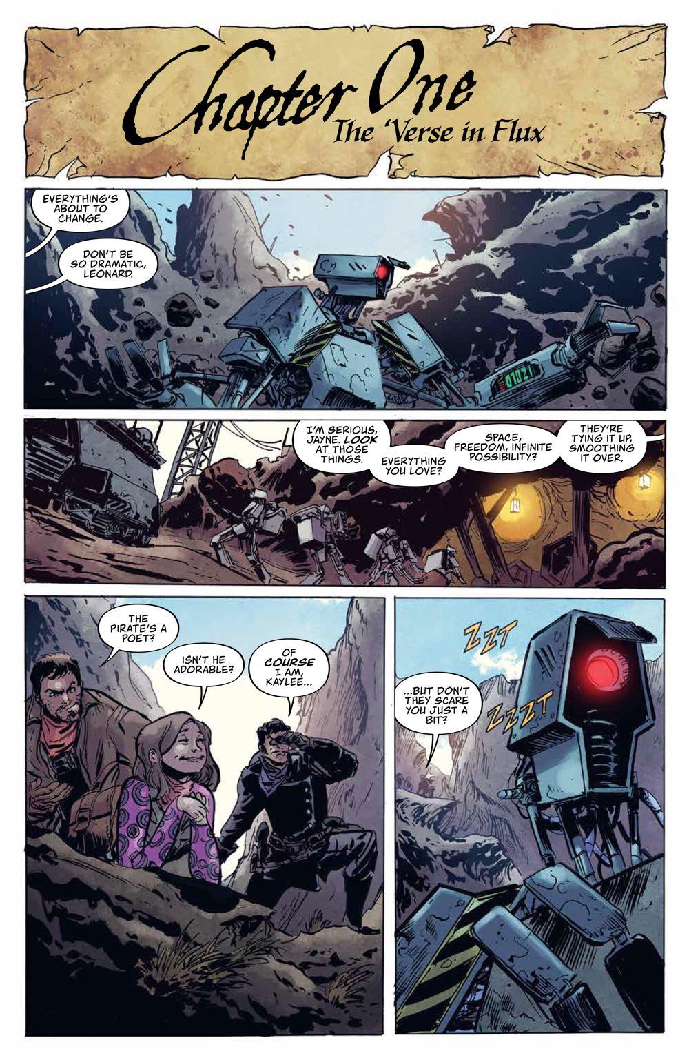 Firefly_BlueSunRising_v1_HC_PRESS_10 ComicList Previews: FIREFLY BLUE SUN RISING VOLUME 1 HC