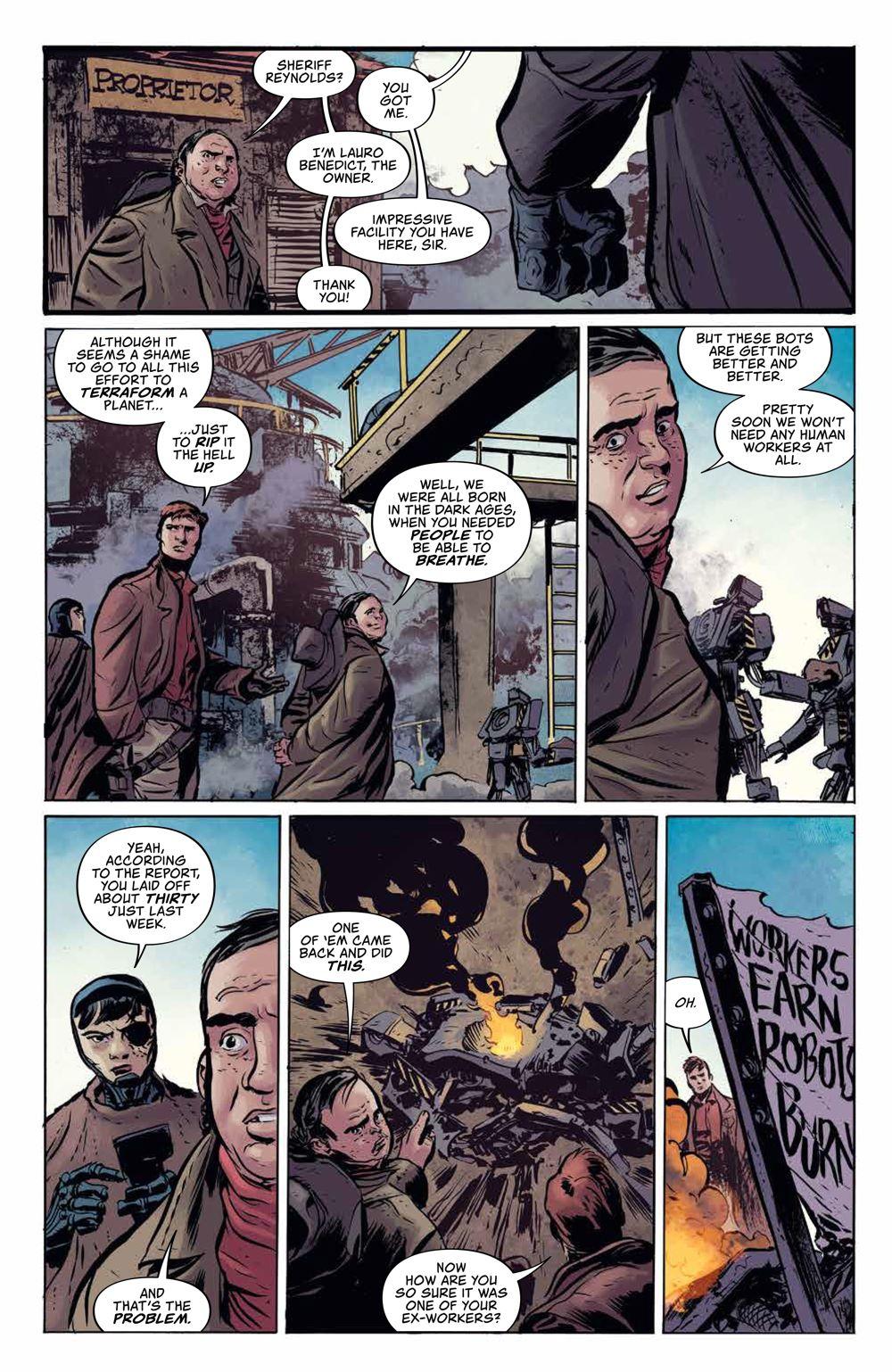Firefly_BlueSunRising_v1_HC_PRESS_17 ComicList Previews: FIREFLY BLUE SUN RISING VOLUME 1 HC