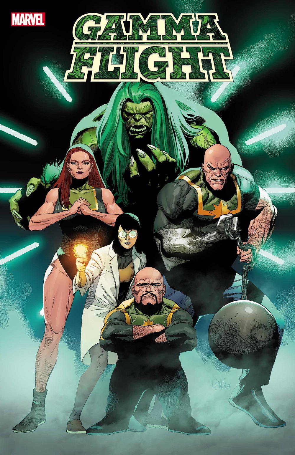 GAMMAFLIGHT2021001_cvr-1 Marvel Comics June 2021 Solicitations