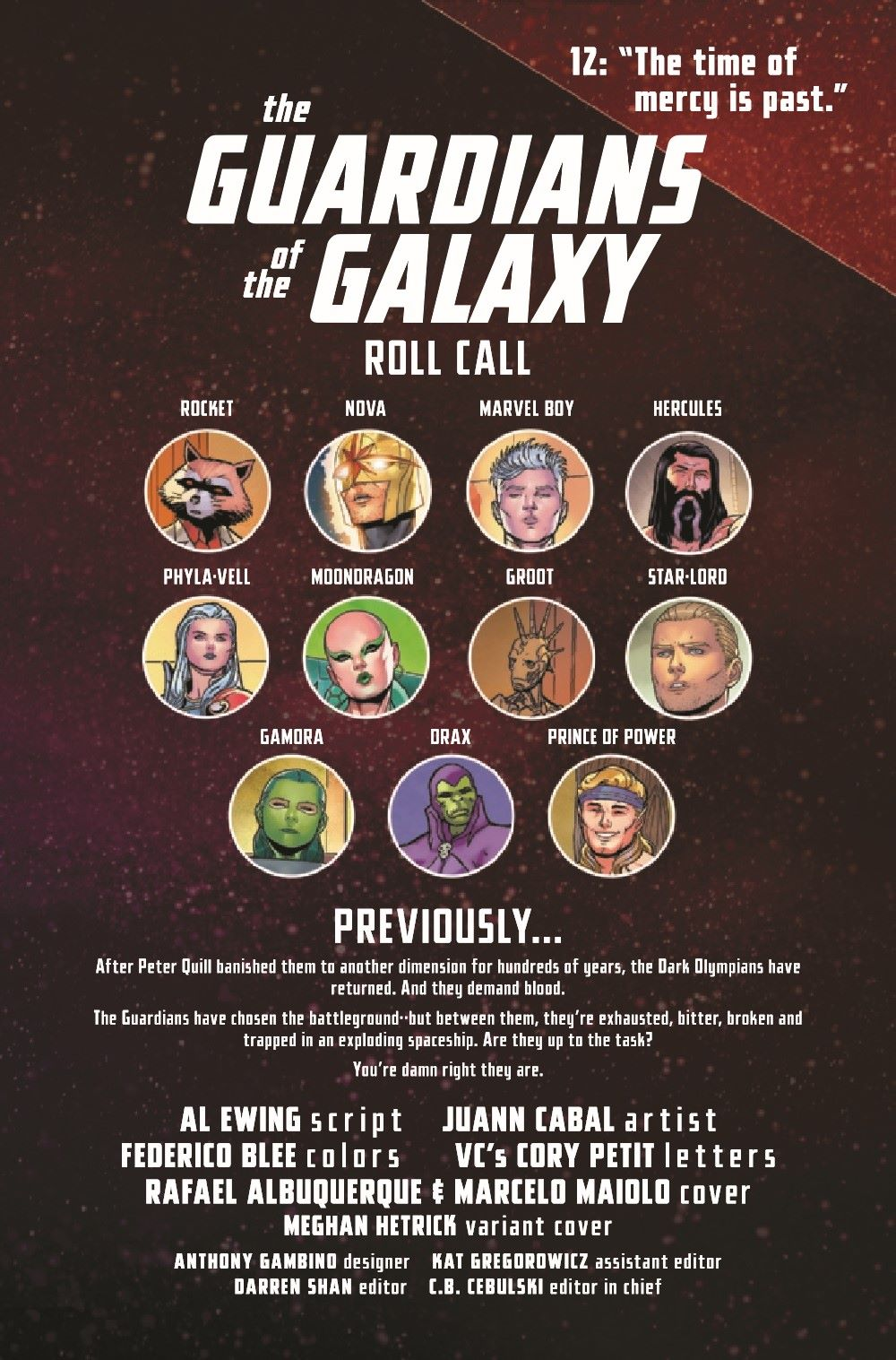 GARGAL2020012_Preview-2 ComicList Previews: GUARDIANS OF THE GALAXY #12