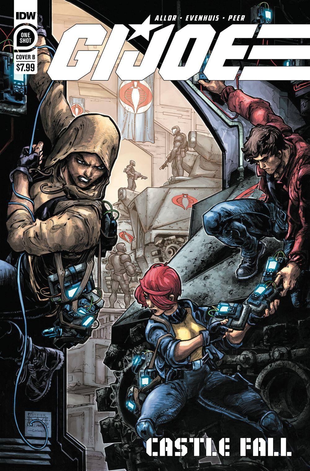 GIJoe_CastleFall01-coverB ComicList Previews: G.I. JOE CASTLE FALL #1