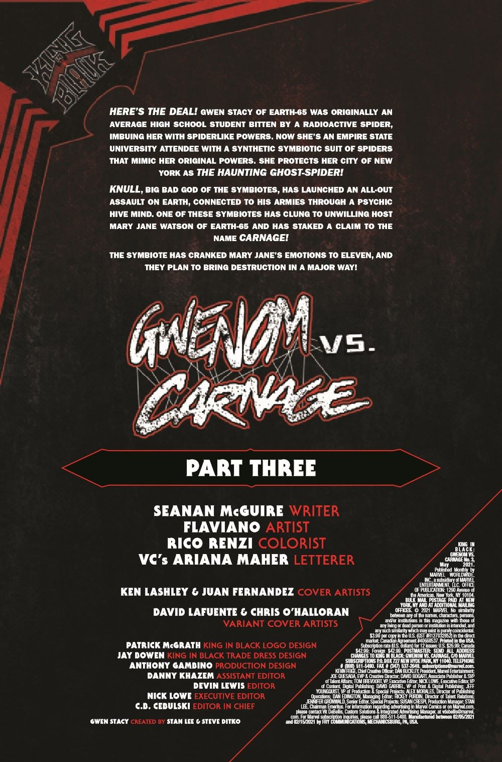 GWENOMVSCARNKIB2021003_Preview-2 ComicList Previews: KING IN BLACK GWENOM VS CARNAGE #3 (OF 3)