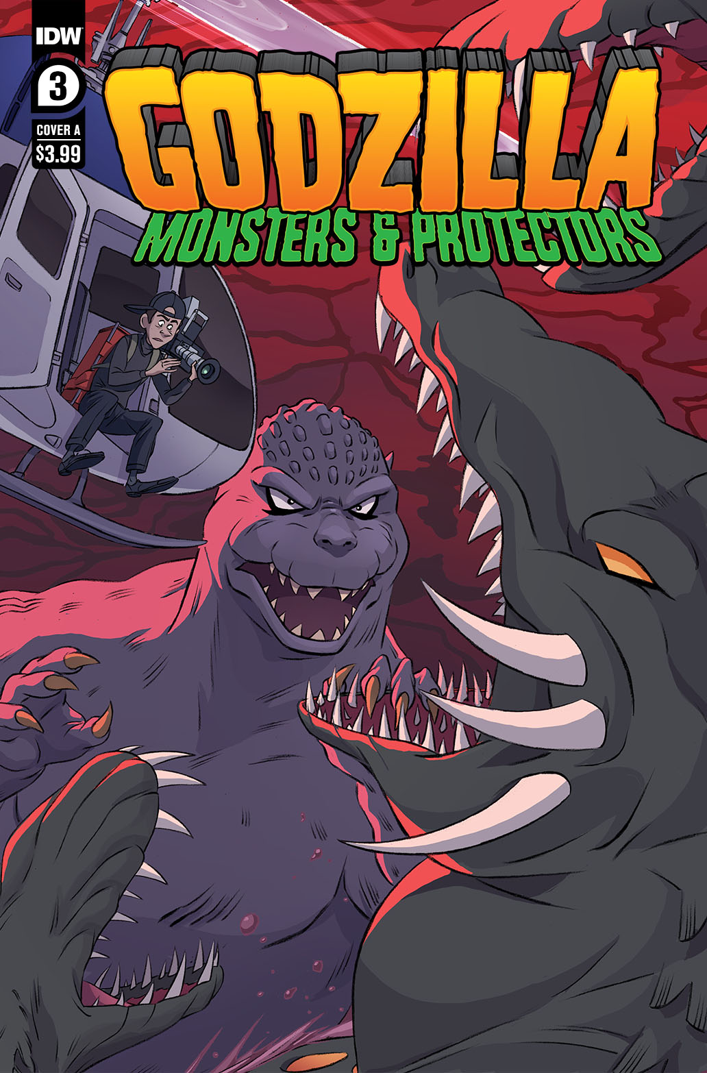 Godzilla_MP03-coverA-copy IDW Publishing June 2021 Solicitations